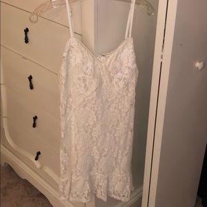 Bloomingdales Aqua Brand white dress